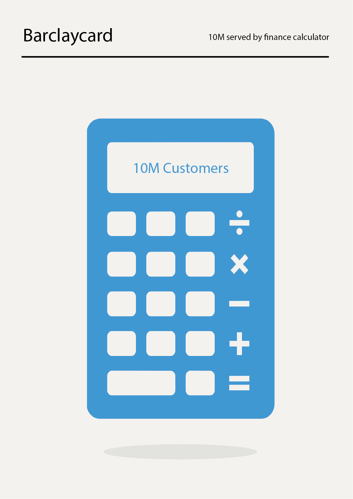 Barclaycard: Served by finance calculator